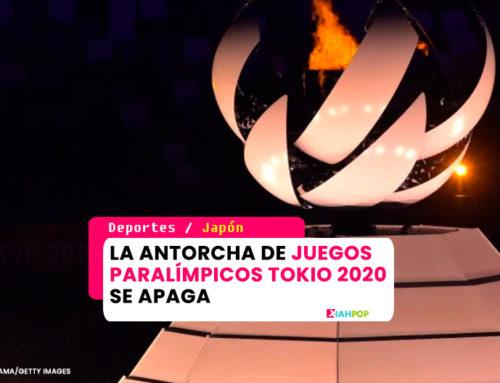 La antorcha de Juegos Paralímpicos Tokio 2020 se apaga