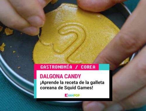 Aprende la receta de la galleta Dalgona que popularizó «El Juego del Calamar»