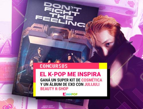 [Concurso 13.º aniversario] «El K-pop me inspira» con JuliJuli K-Beauty