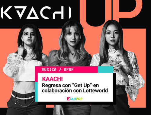 KAACHI regresa con «Get Up» y un MV grabado en el parque Lotteworld