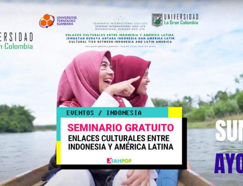 Seminario gratuito sobre enlaces culturales entre Indonesia y América Latina